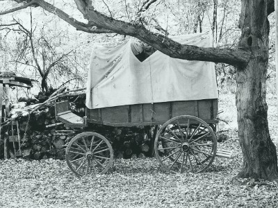 covered wagon-family history